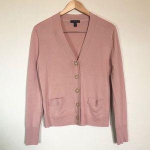 J. Crew || Black Label Blush Pink Sweater